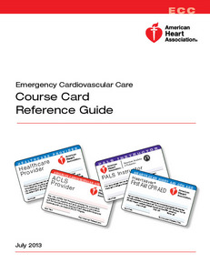 AHA ECC Reference Guide 2013